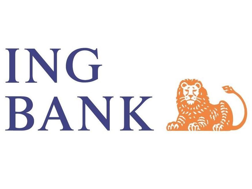 """Логотип """"ИНГ Банка"""""""