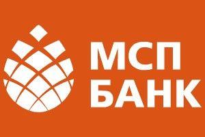 "Логотип ""МСП Банка"""