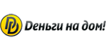 """Логотип компании """"Деньги на дом"""""""