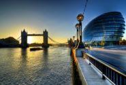 Лондон красивый вечерний вид